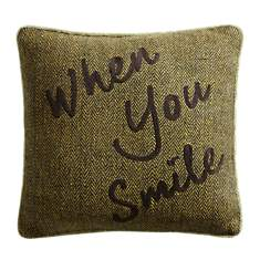 Coussin When You Smile LOUNGE FABRICS