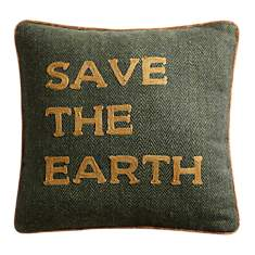 Coussin Save The Earth LOUNGE FABRICS