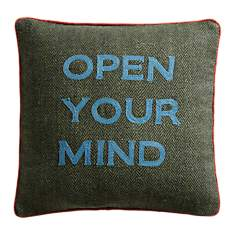 Coussin Open Your Mind LOUNGE FABRICS