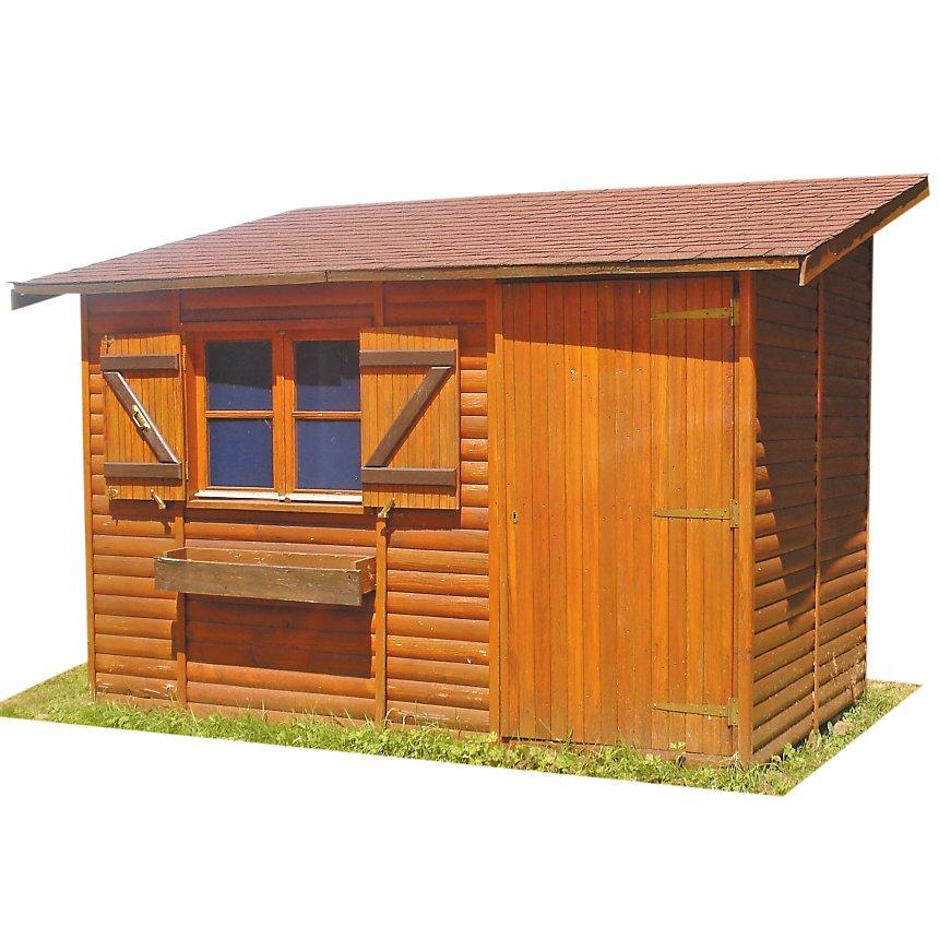 Abri de jardin cihb ari ge avec plancher - Abri de jardin avec plancher ...