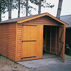 Garage de jardin CIHB modèle 2000,  pin