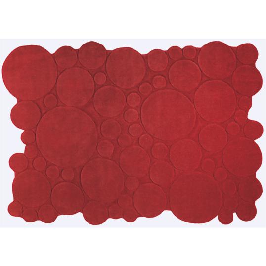 Tapis esprit home circle rouge - Tapis camif ...