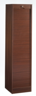 Classeur à rideau simple, h. 172,4 cm