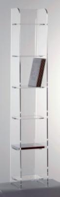 Meuble porte DVD Clip 6 étagères (80 DVD )