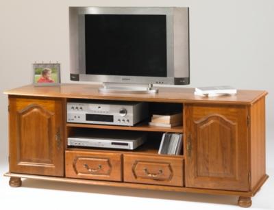 Meuble TV 2 portes large Cluzel