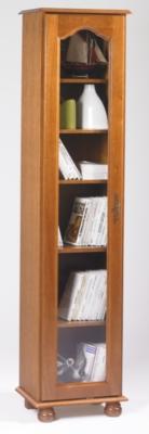 Bibliothèque Cluzel 1 porte, chêne