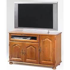 Meuble TV 3 portes, 1 abattant Cluzel