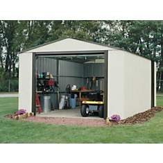 Garage métal galvanisé 19 m2  CHALET-JAR...