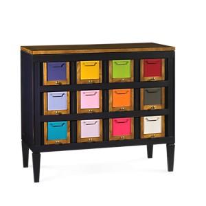 Grand meuble de rangement Les Coloristes