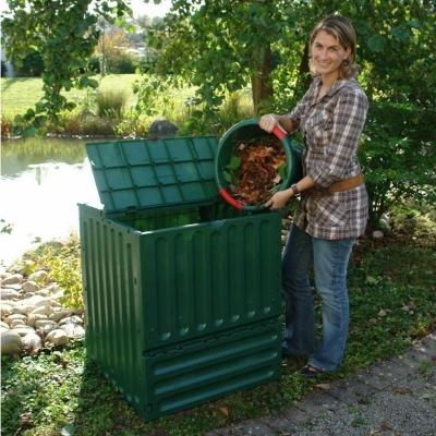 Composteur ECO-KING 400 litres coloris  vert