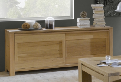 buffet 2 portes coulissantes copacabana. Black Bedroom Furniture Sets. Home Design Ideas