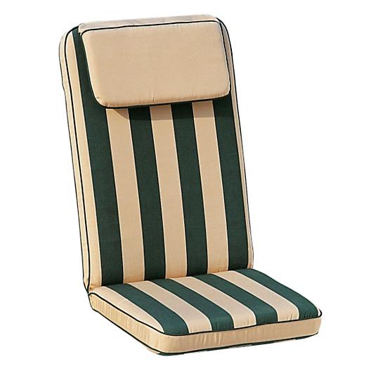 coussin pour fauteuil de jardin haut dossier maison design. Black Bedroom Furniture Sets. Home Design Ideas