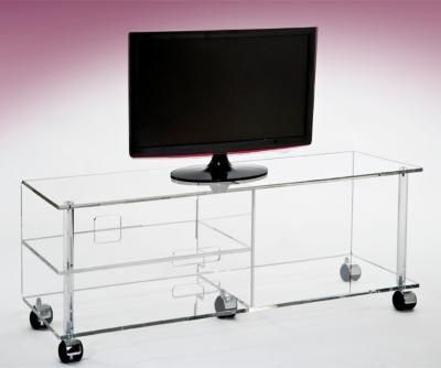 Meuble TV extra plat Cristaline