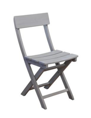 Lot de 2 chaises pliantes Niagara Pro  Loisirs en acacia cérusé