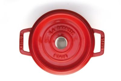 Cocotte ronde STAUB 30 cm cerise