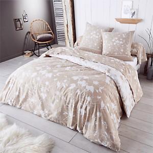 Parure de lit flanelle Colette  TRADILIN