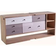 Commode 5 tiroirs Ombra