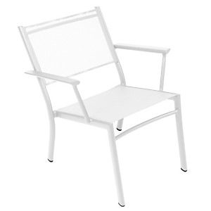 Lot de 2 fauteuils bas FERMOB COSTA