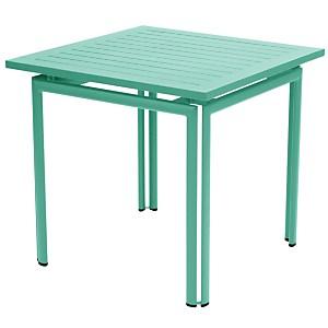 Table démontable carrée FERMOB Costa  80 x 80 cm, coloris au choix