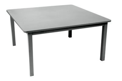 Table carrée FERMOB Craft, 6/8 personnes