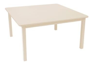 Table carrée FERMOB Craft, 6/8 personnes