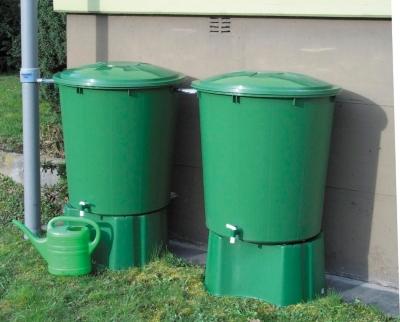 Kit 2 cuves cylindriques 510 litres  jumelées