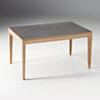 Table rectangulaire à allonges Daena