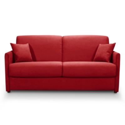 Canapé convertible tissu ou microfibre  Dany