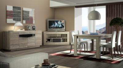 meuble tv d angle bas denver. Black Bedroom Furniture Sets. Home Design Ideas