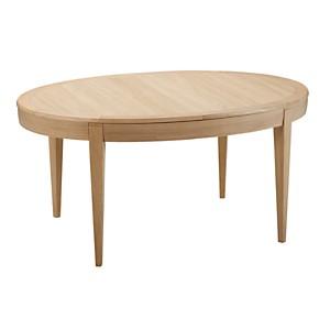Table ovale à allonges Donna