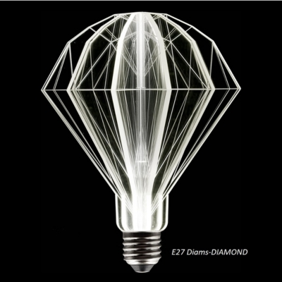 Ampoule à Led E27 Diams-DIAMOND