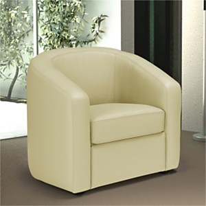Fauteuil cuir Enzo