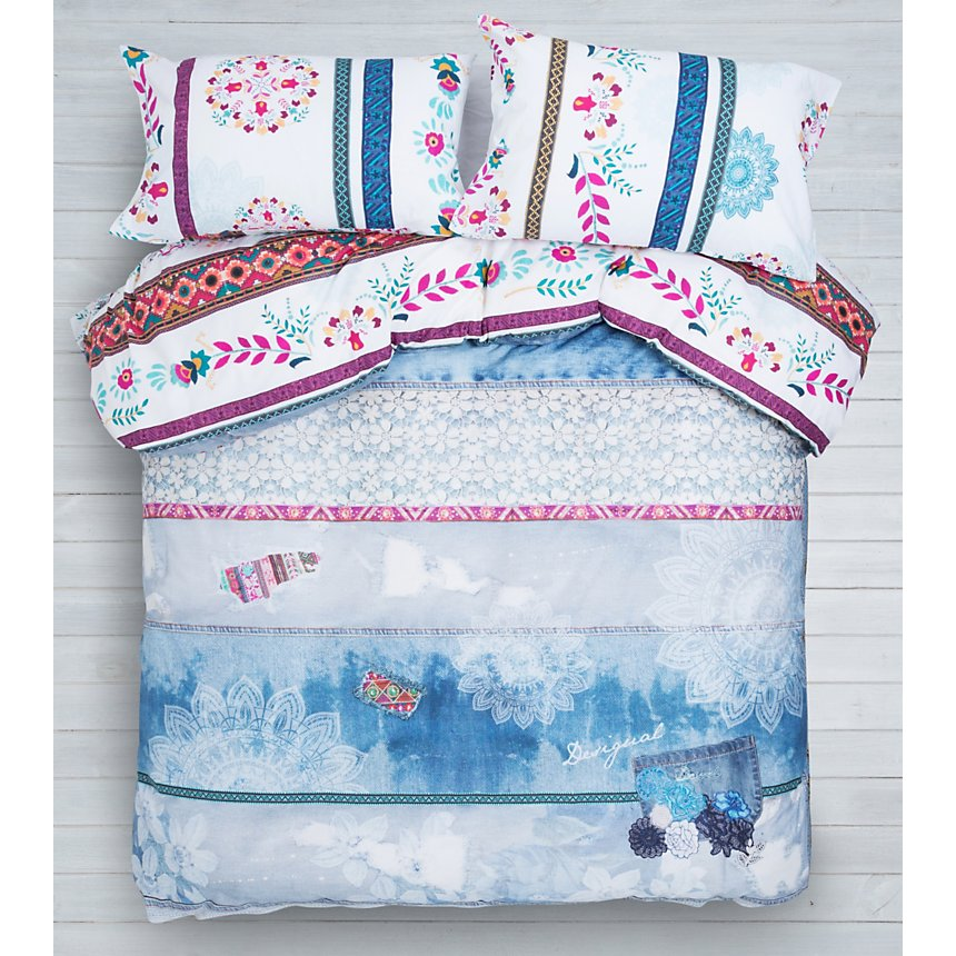 Taie d'oreiller percale Exotic Summer  DESIGUAL