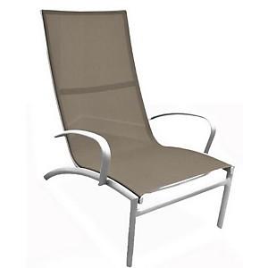 Lot de 2 fauteuils Lounge Elégance  empilables