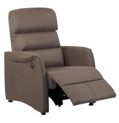 fauteuil relax lectrique microfibre cin ma. Black Bedroom Furniture Sets. Home Design Ideas