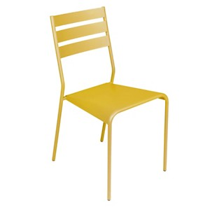 Lot de 2 chaises empilables FERMOB FACTO