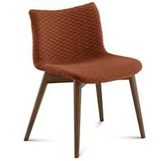 Lot de 2 chaises Fenice pieds bois  DOMI