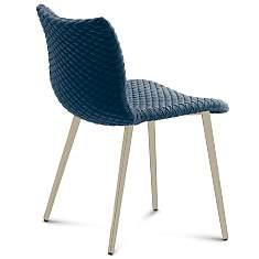Lot de 2 chaises Fenice pieds métal  DOM