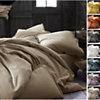 Housse de couette coton lin lavé  Flandres LABELISSIM