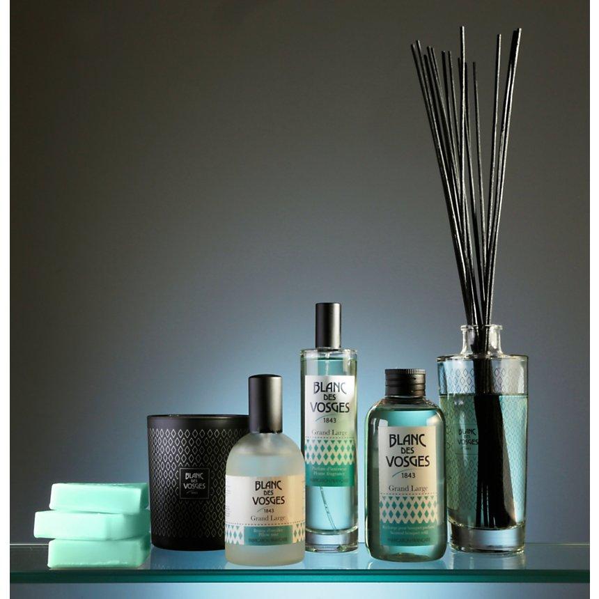 Bougie parfumée naturelle Grand Large  BLANC DES VOSGES