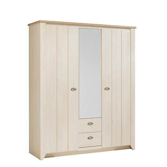armoire genetouze 3 portes gami. Black Bedroom Furniture Sets. Home Design Ideas
