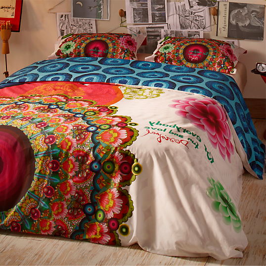 parure de lit percale galactic fair desigual. Black Bedroom Furniture Sets. Home Design Ideas
