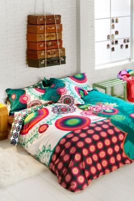parure de lit percale galactic desigual. Black Bedroom Furniture Sets. Home Design Ideas