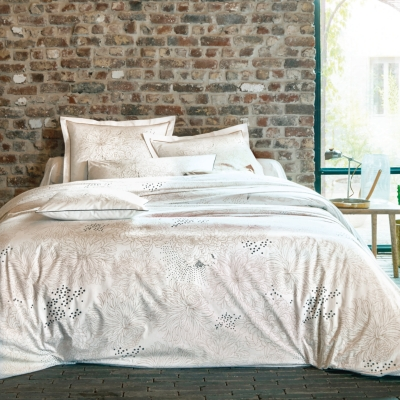 Drap housse percale Galaxie Lin ...