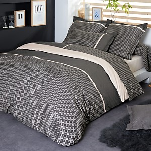 Taie percale Gatsby TRADILINGE