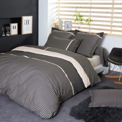 housse de couette percale gatsby tradilinge. Black Bedroom Furniture Sets. Home Design Ideas
