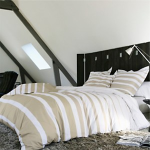 Taie percale Grand Large  BLANC ...