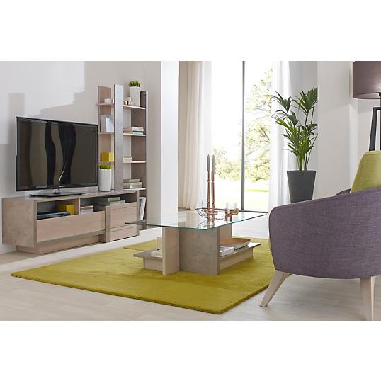 Ensemble table basse et meuble tv guizmo for Ensemble meuble tv et table basse