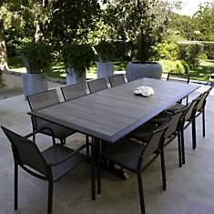 Ensemble table 150/200 avec 4 chaises et