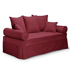 Canapé-lit gigogne tissu Hermita...